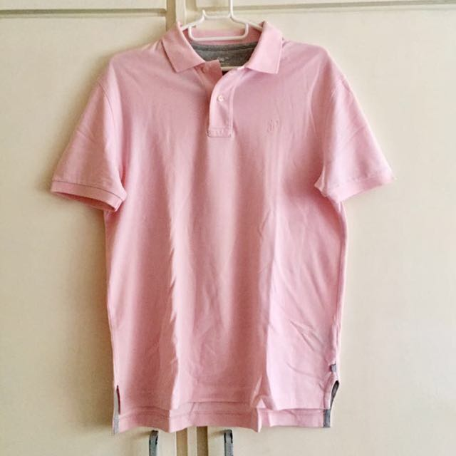 GAP Light Pink Collared Polo