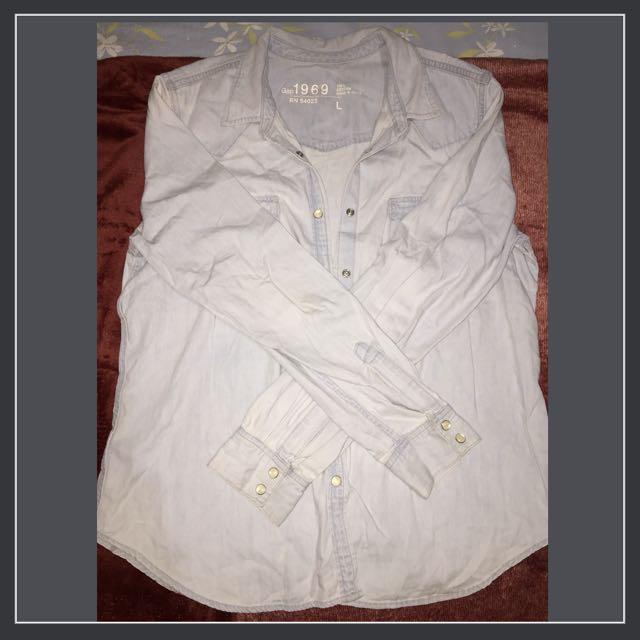 Gap soft denim jacket