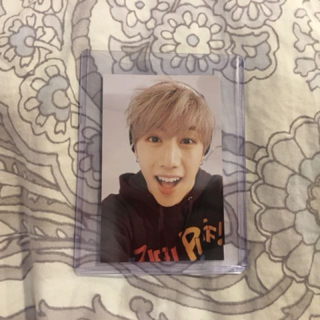 GOT7 Mark Just Right photocard