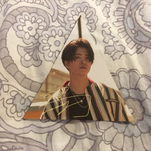 GOT7 Youngjae 7 for 7 photocard/triangle