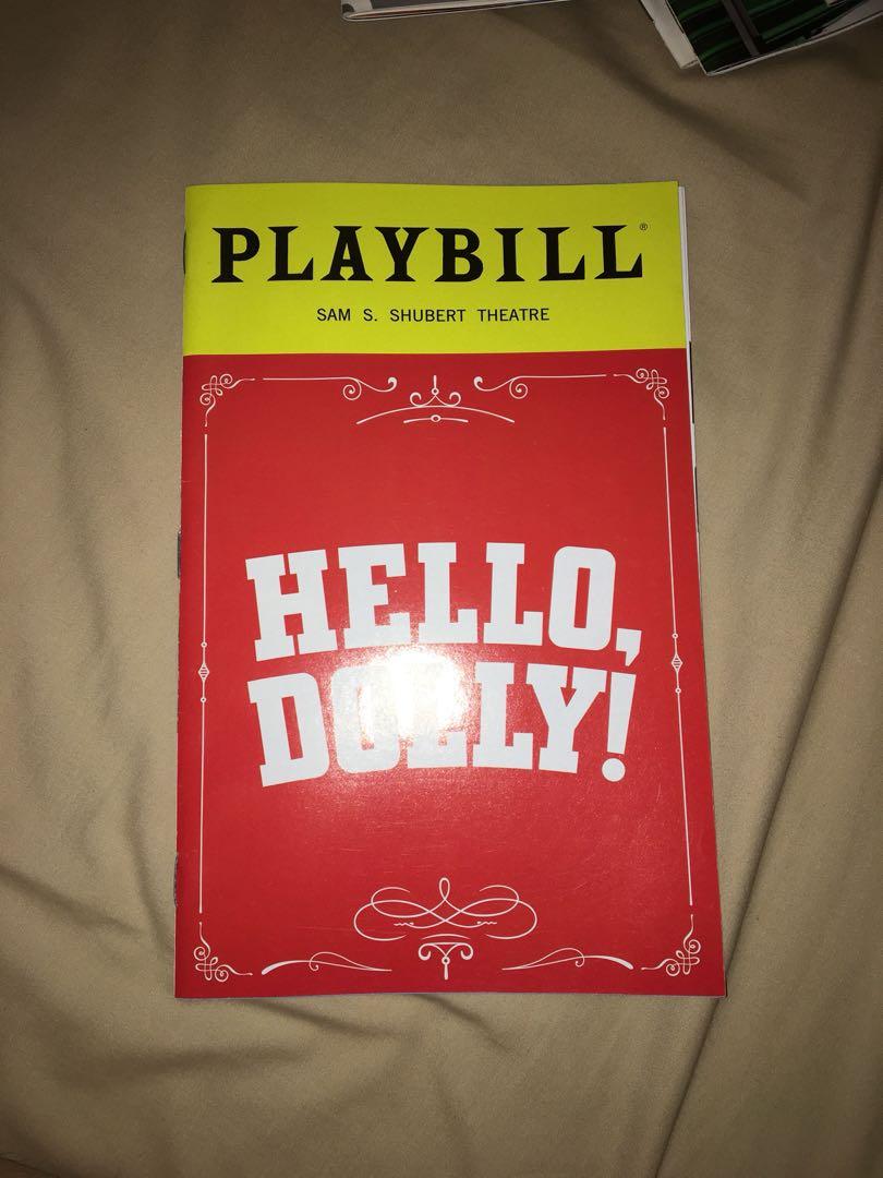 Hello Dolly Playbill (Donna Murphy LAST SHOW)