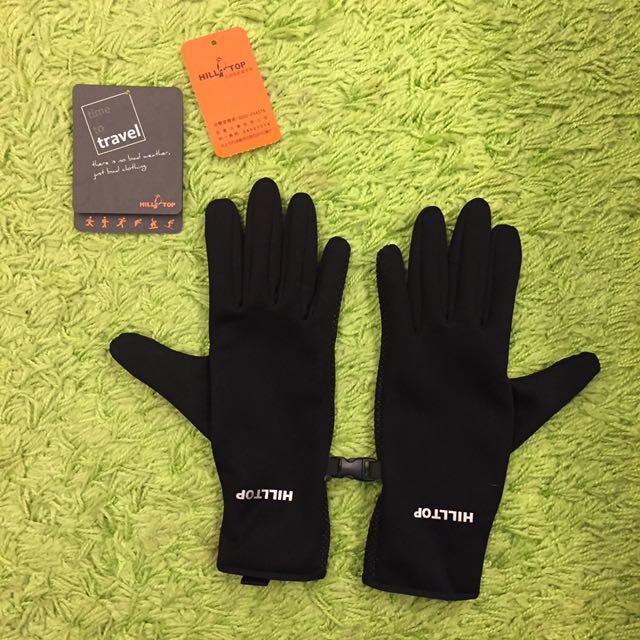 Hilltop山頂鳥 防風保暖手套(可滑手機)