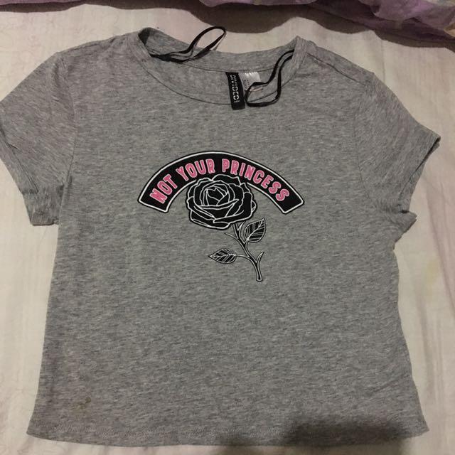 H&M croptop shirt