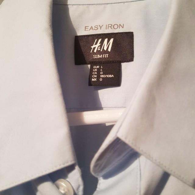 H&M slim fit business shirt