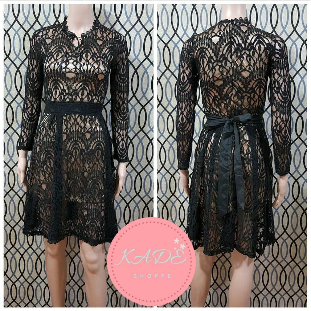 HQ Full Lace Dress