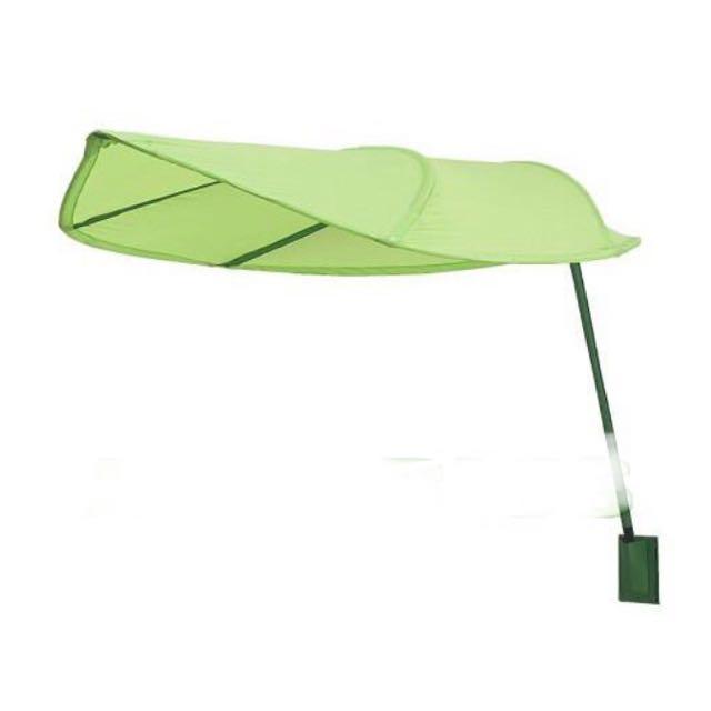 【IKEA】全新兒童床頂篷-綠色樹葉