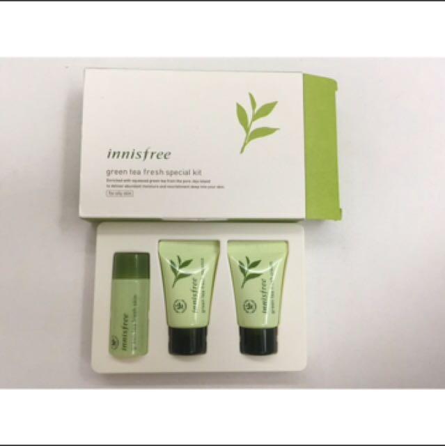 Innisfree Greentea special kit (sample)