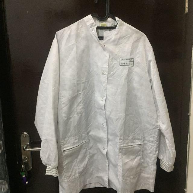 Jaket vintage white