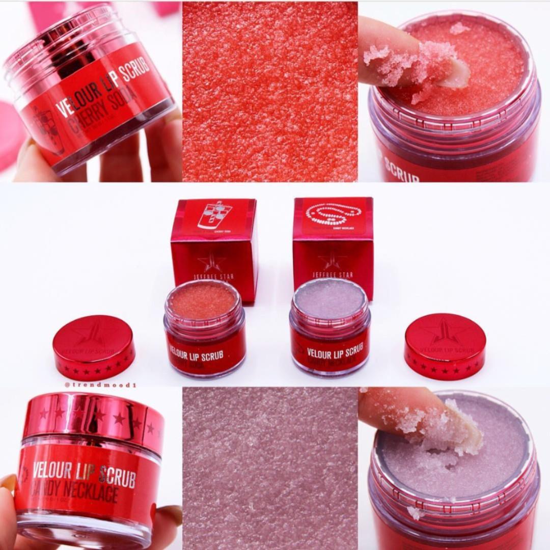 JEFFREE STAR Love Sick Collection Lip Scrubs