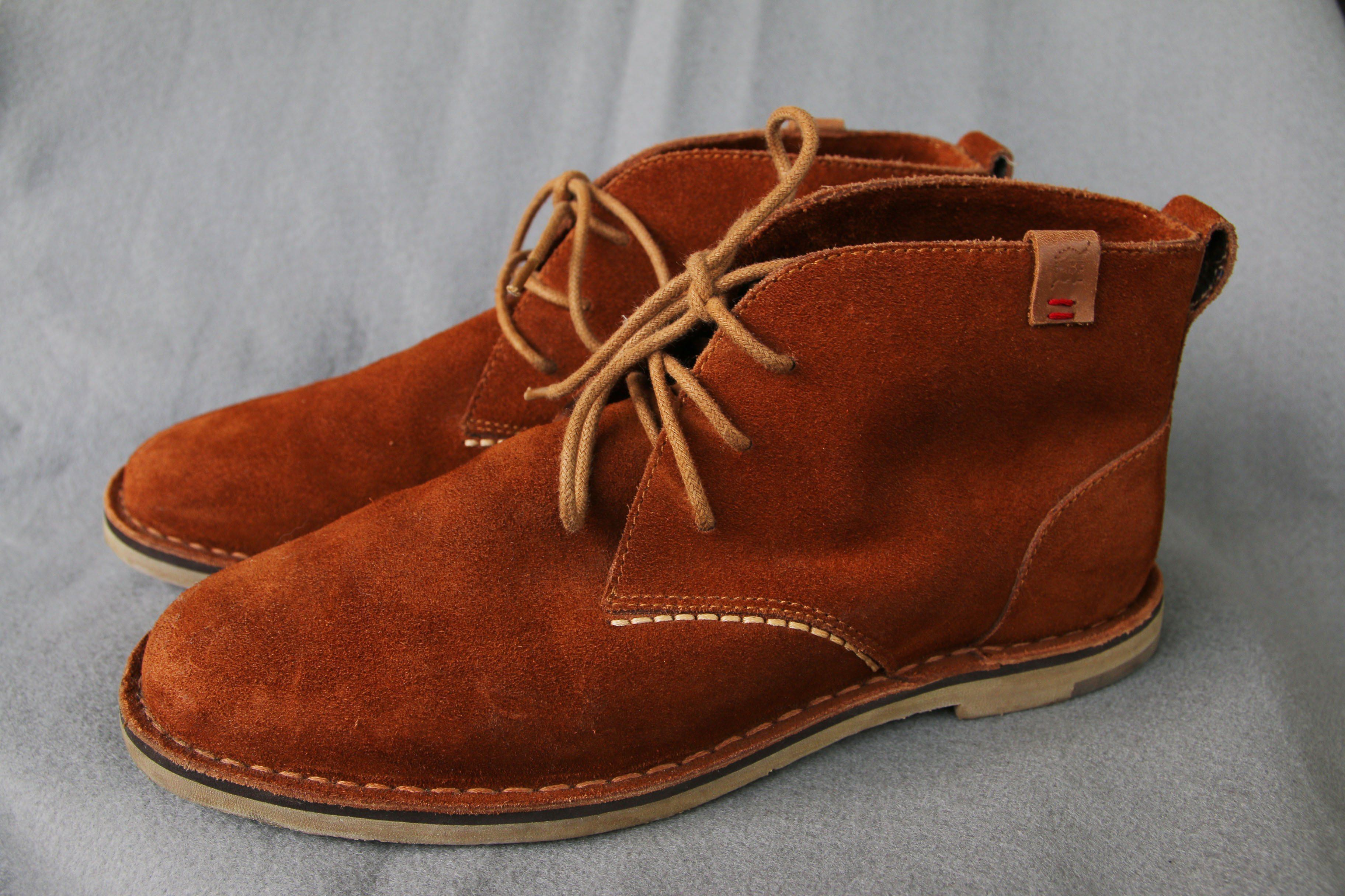 e1f66a0fba5 Jimmy Black Chukka Boots - Brown Suede