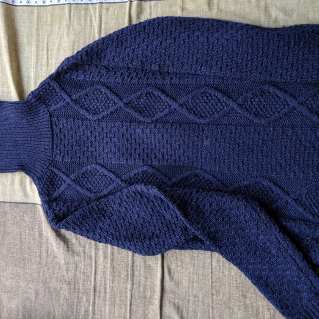Knitted Winter shirt