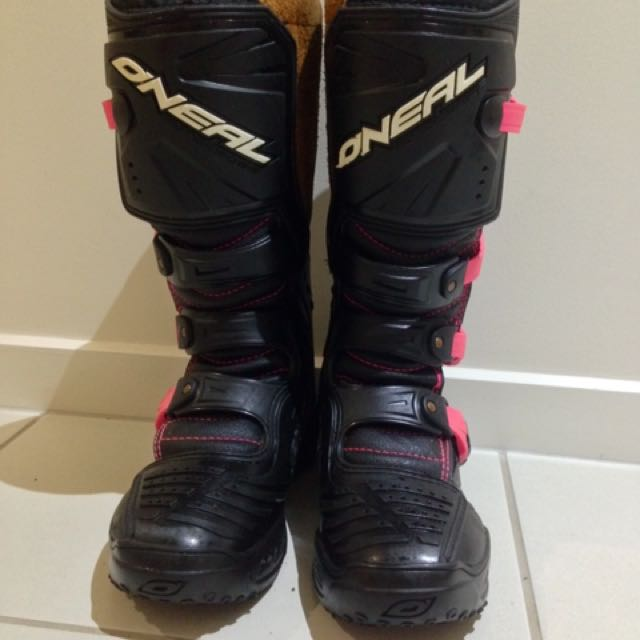 Ladies Oneal Motocross Boots - Size 7