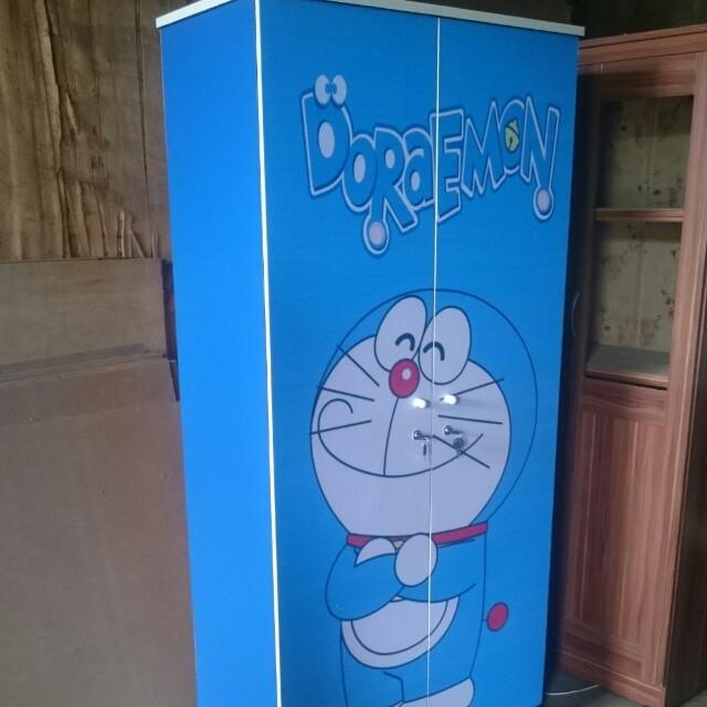Lemari Lemari Pakaian Doraemon 2 Pintu