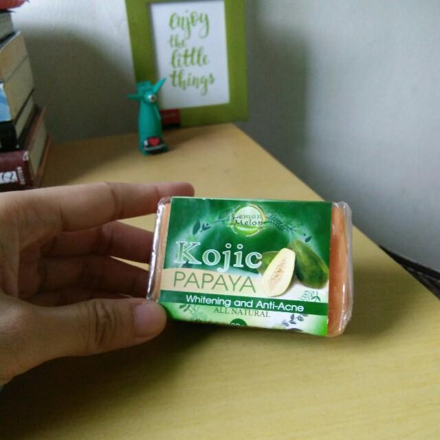 Lemon Melon Kojic Soap