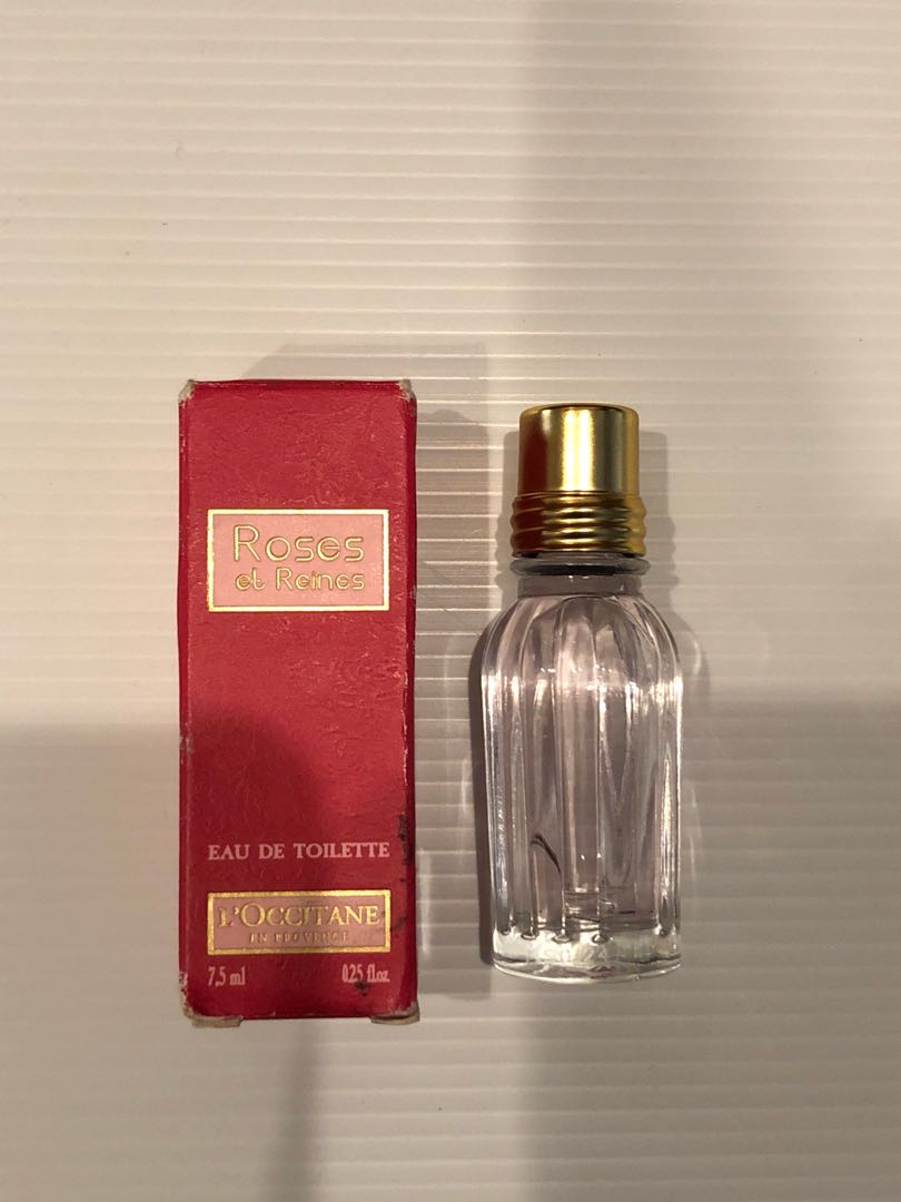 L'Occitane Rose et Reines Eau de Toilette Mini Splash 0.25oz/7.5m