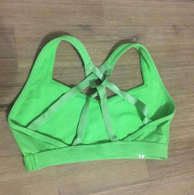 Lorna Jane crop sports bra