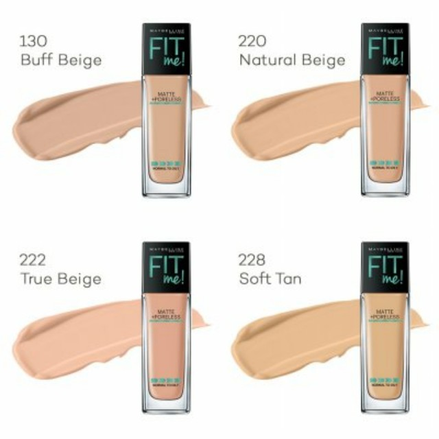 Maybelline Fit Me Matte Poreless Foundation 130 Buff