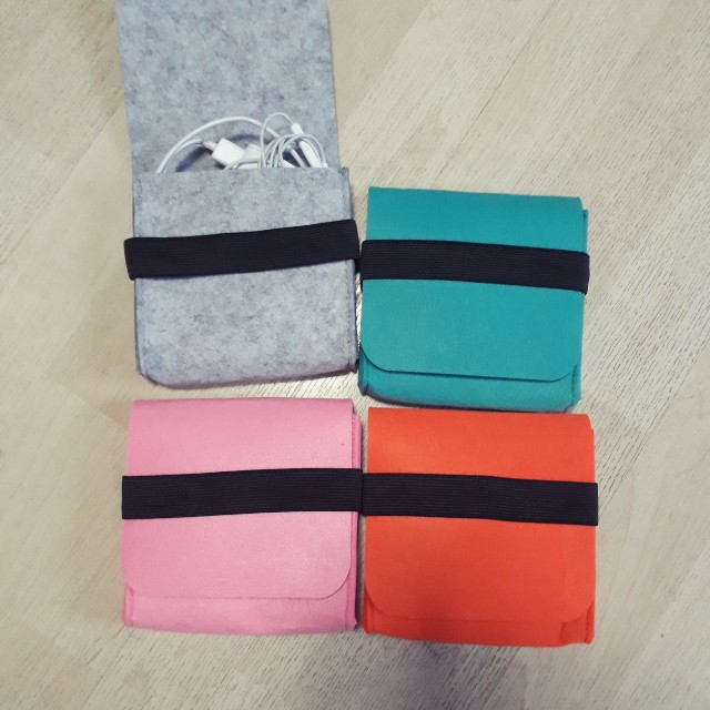 Mini Pouch for Cables and Chargers