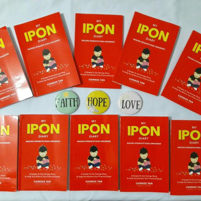 """My Ipon Diary"" by Chinkee Tam"