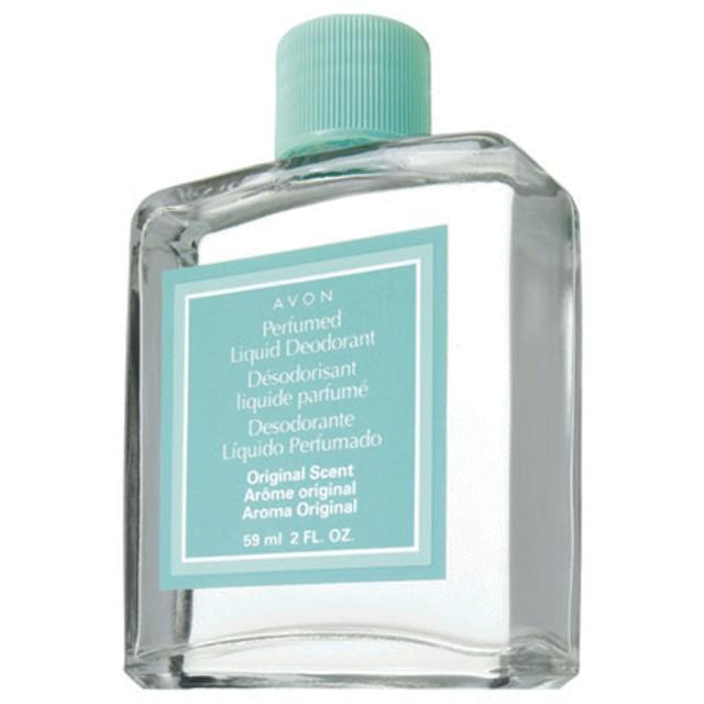 new! aluminum free Perfumed Liquid Deodorant