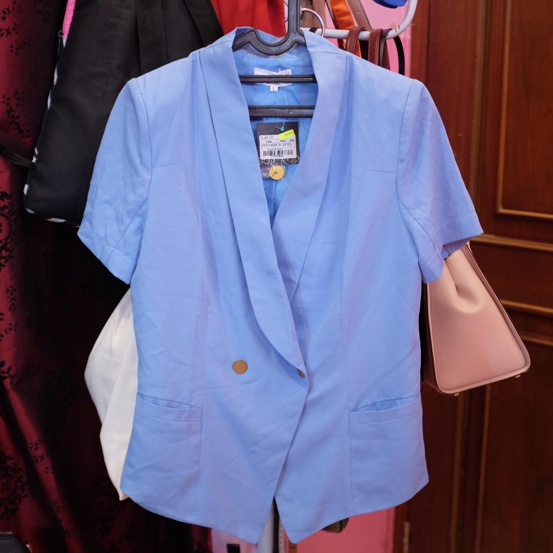 NEW Gaudi blue pastel blazer