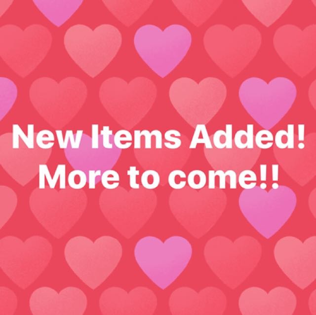 New items out and more to come