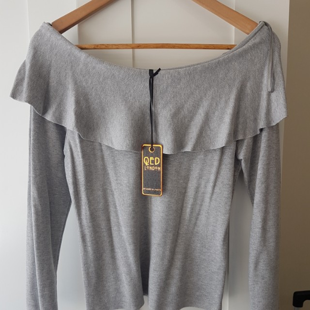 new with tags size 14 off shoulder jumper