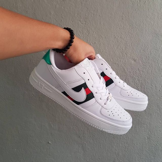 official photos a94f4 f79b8 Nike Air Force GUCCI, Men s Fashion, Footwear, Sneakers on Carousell