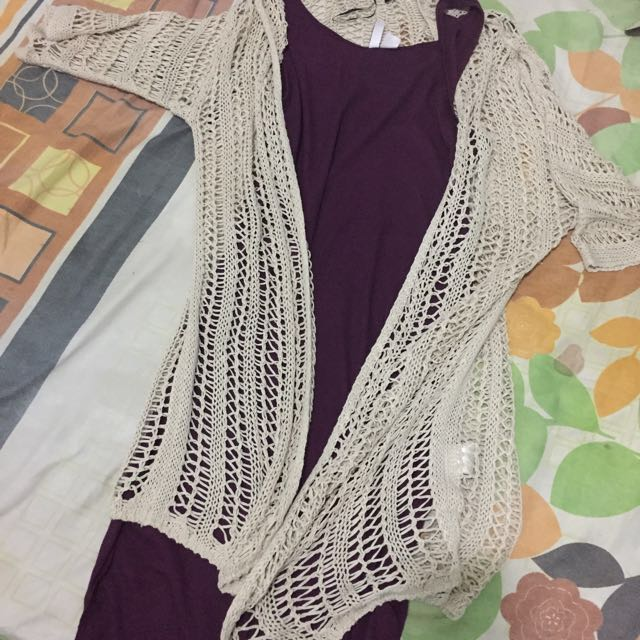 Outer and iner dress h&m