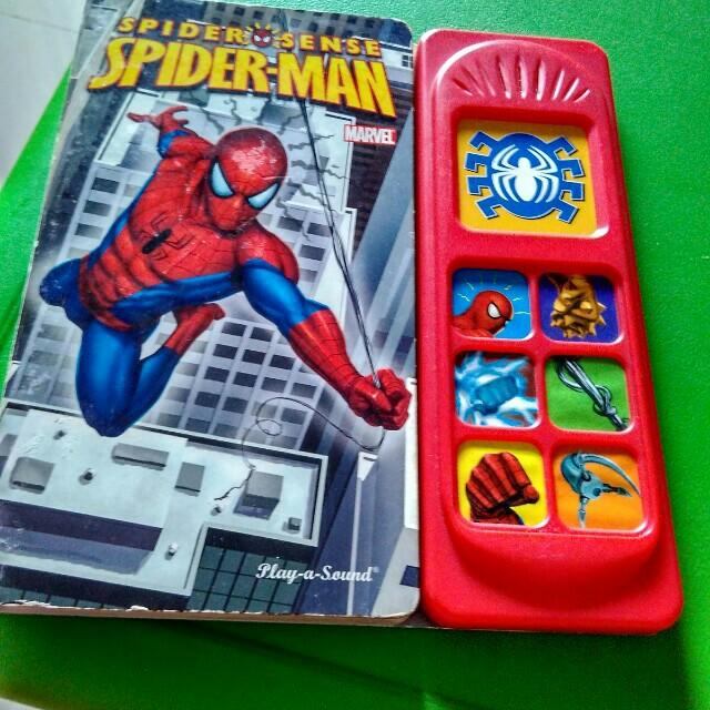 Play a sound spiderman