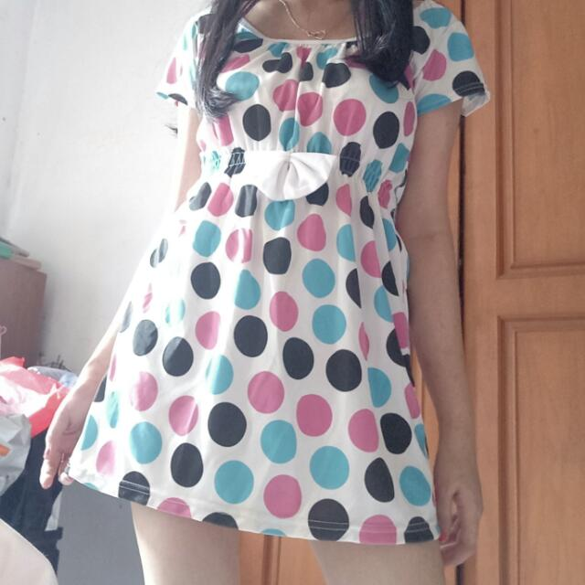 SALE Polkadot Minidress