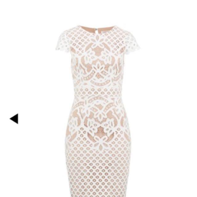 Portman Khloe Lace Dress Sz 10