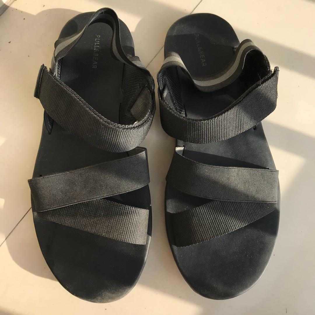 Pull & Bear Black Sandals