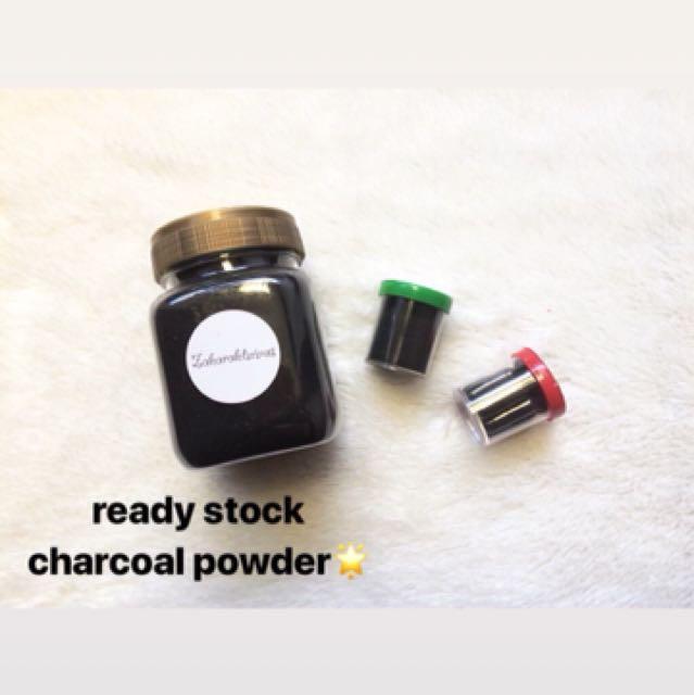 Ready Stock Charcoal Powder