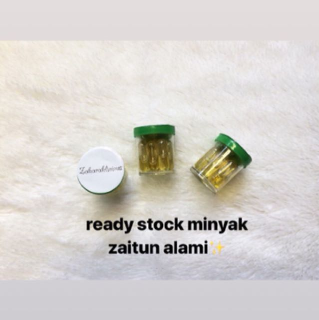 Ready Stock Minyak Zaitun Alami