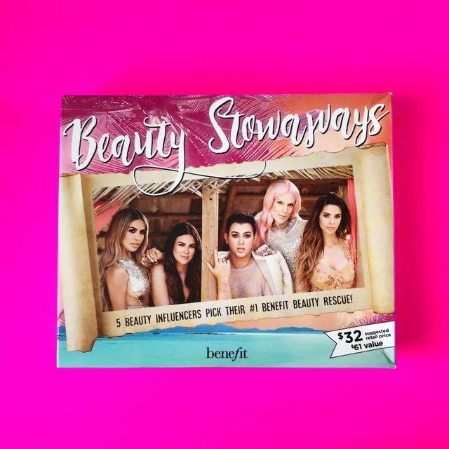 ✨READYSTOCK✨ Benefit Cosmetics Beauty Stowaways Influencer Must-Have Set