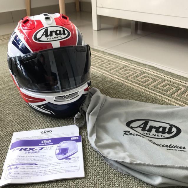 (Reduced) ARAI RX-7X full face helmet