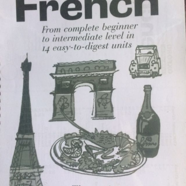 Repriced Oxford: Take off in French