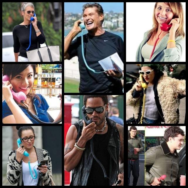 Retro Handset for Mobile Phones