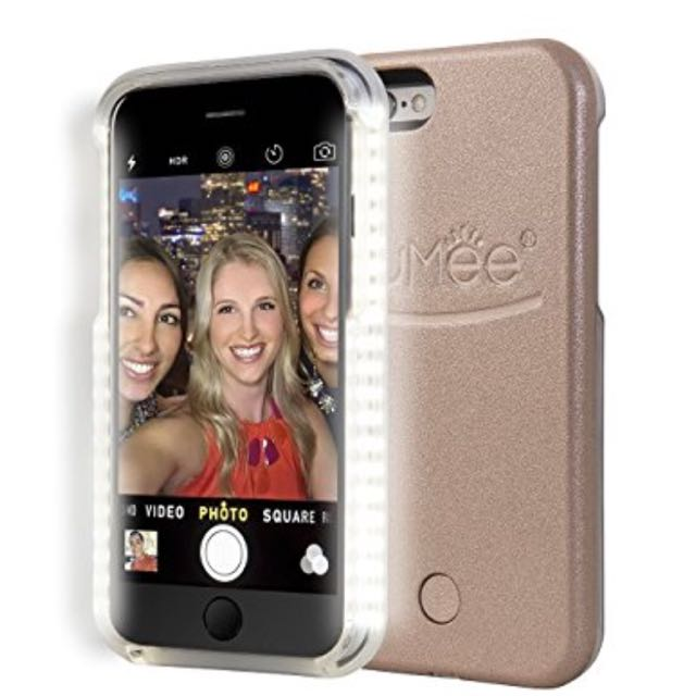 ROSE GOLD Lumi Light up Case Iphone 5s