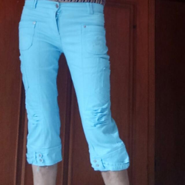 SALE Baby Blue Pants