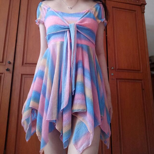 SALE Rainbow Blouse