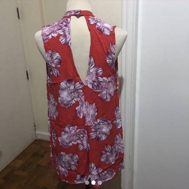 !SALE! Red F21 Floral Dress