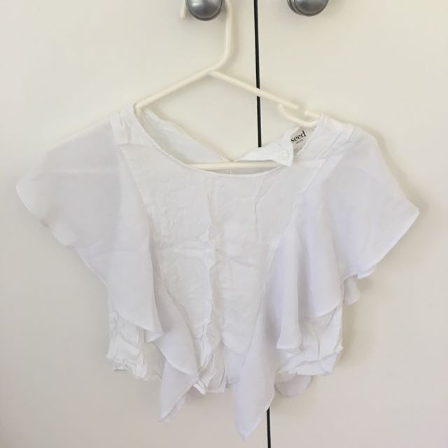 Seed Frill top