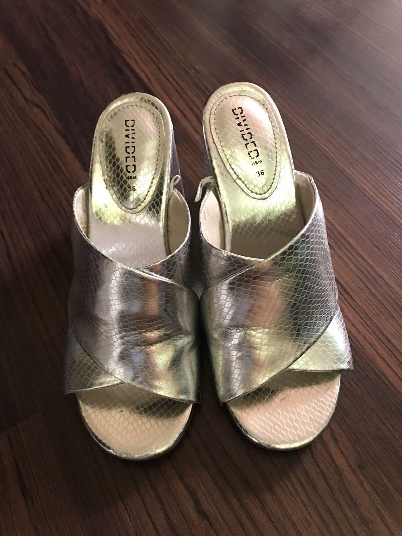 Slip-on with heels