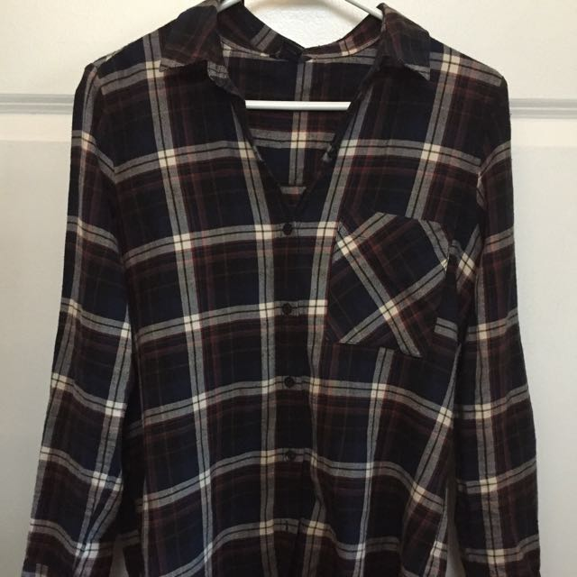 Super soft flannel - size small womens - plaid