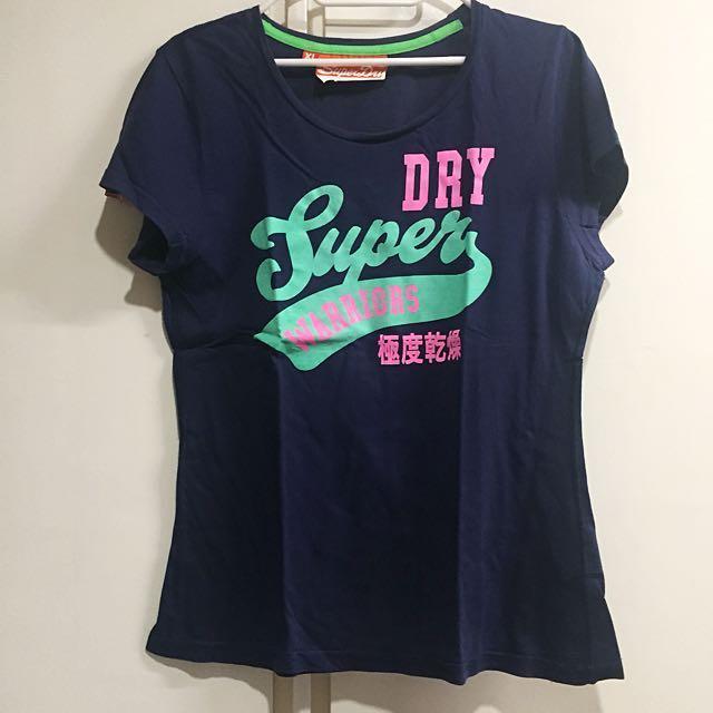 Superdry T-Shirt Navy Blue
