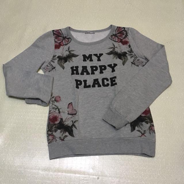 Terranova Floral Sweater