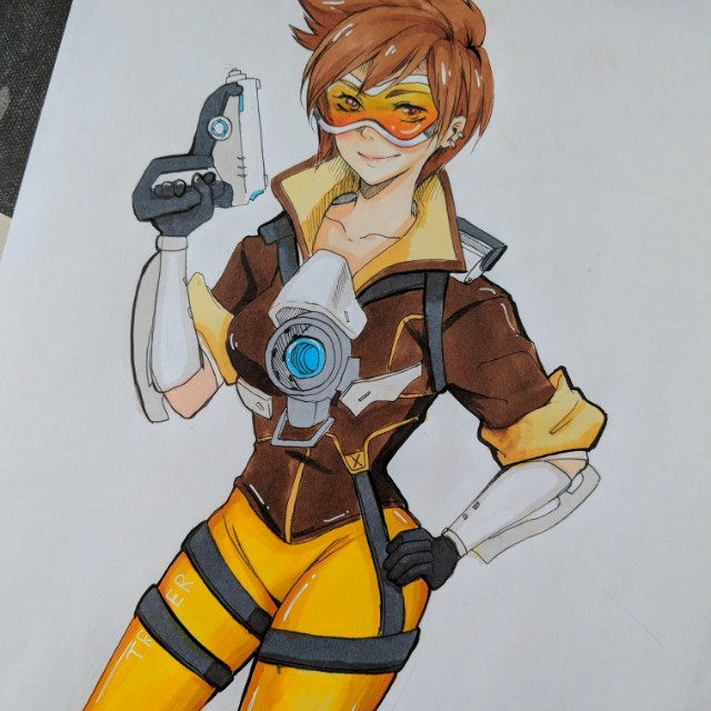 Tracer drawing
