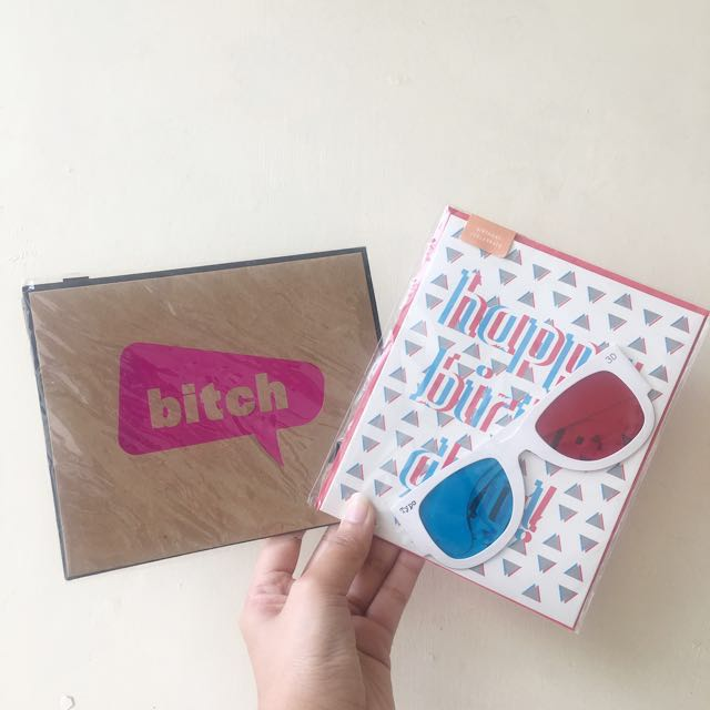 Typo Birthday Card